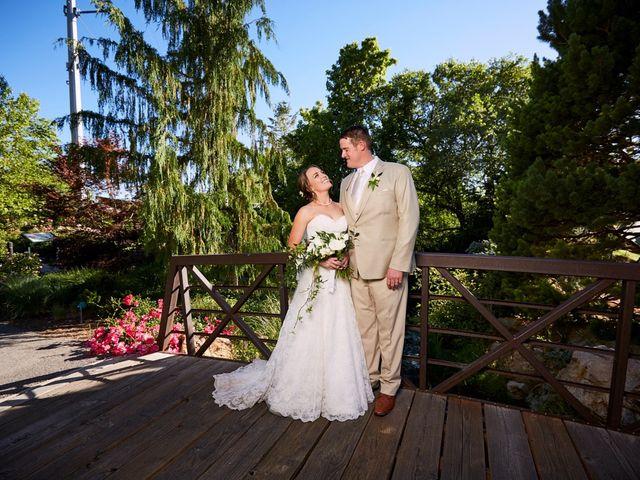 The wedding of Dustin and Ellen
