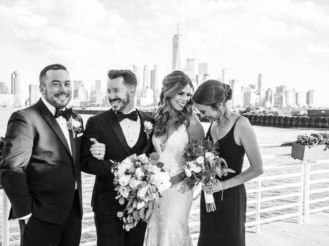 Matt and Christie's Wedding in Jersey City, New Jersey 11