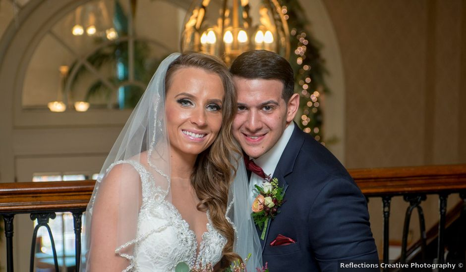 Kostadinos and Jillian's Wedding in Bethlehem, Pennsylvania