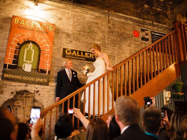 Katie and Dan's Wedding in Toronto, Ohio 6
