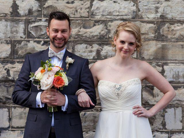 Katie and Dan's Wedding in Toronto, Ohio 16