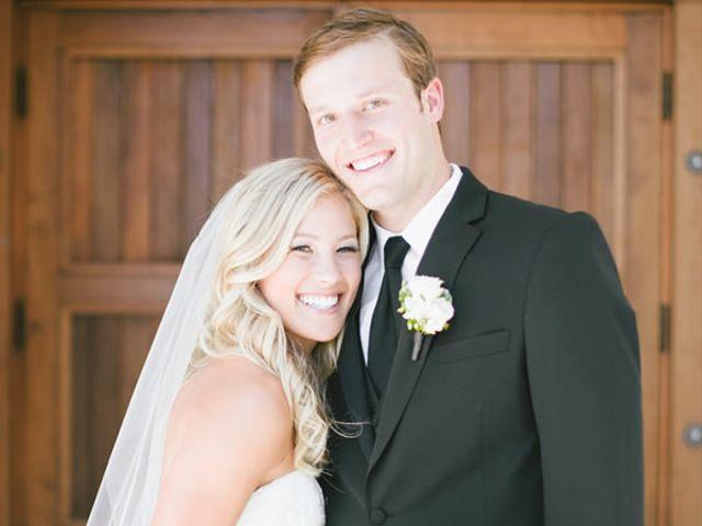 The wedding of Joe and Hannah