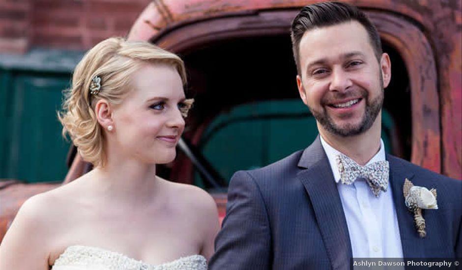 Katie and Dan's Wedding in Toronto, Ohio