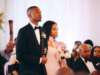 Alexandria and Christopher's Wedding in Houston, Texas 3