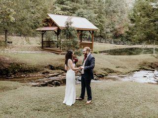 The wedding of Alydia and Nathan