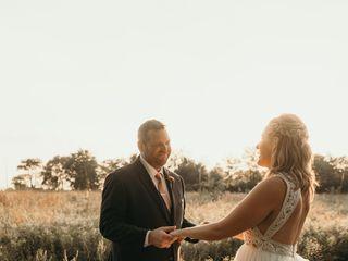 The wedding of Ashley and Matt 1