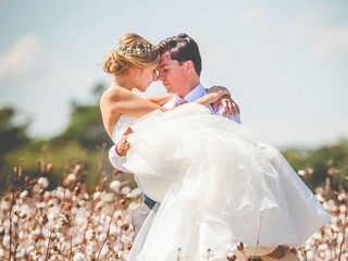 The wedding of Luke and Christiana 1