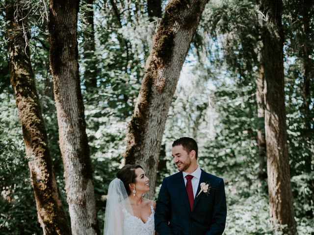 Lee and Danielle's Wedding in Camas, Oregon 5