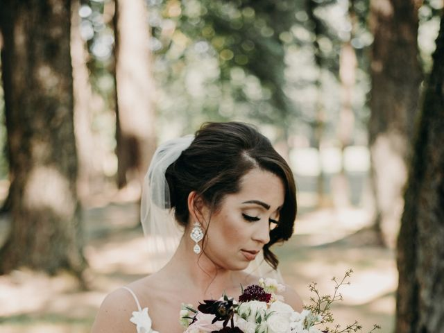 Lee and Danielle's Wedding in Camas, Oregon 6