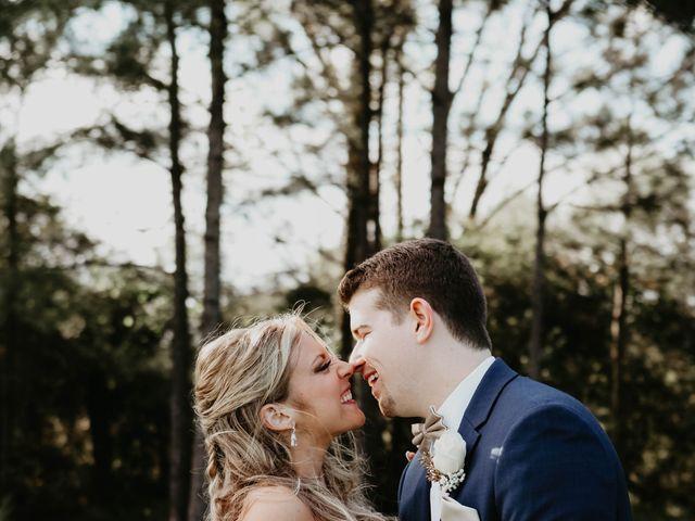 The wedding of Ryan and Dayna