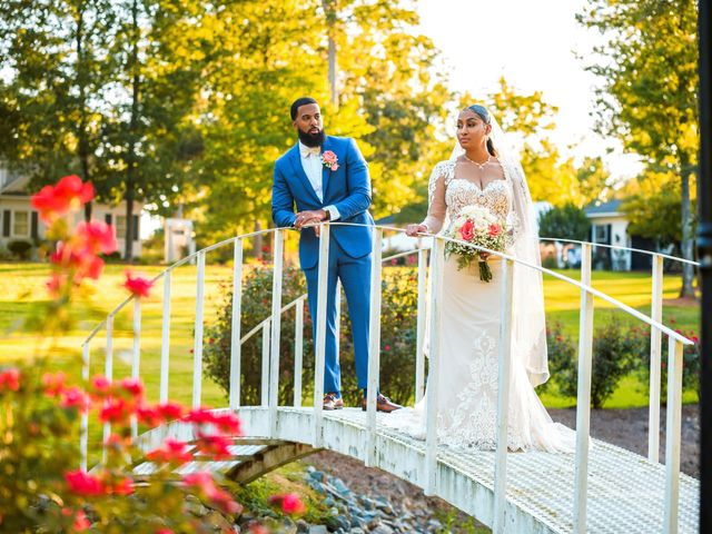 Tiara and Ryan's Wedding in Mount Pleasant, South Carolina 6