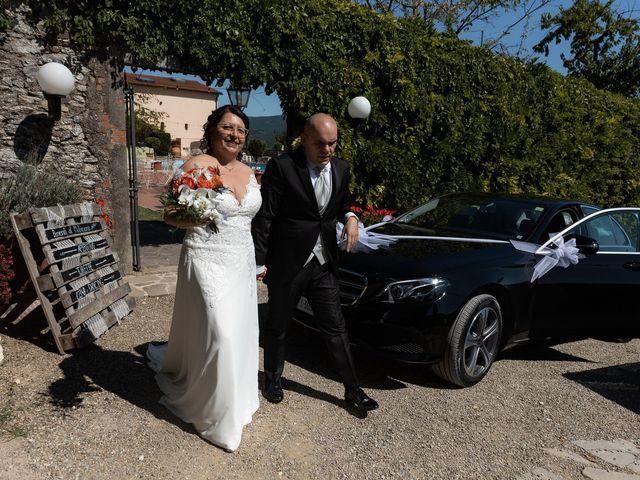 Lorenzo and Stefania's Wedding in Tuscany, Italy 97