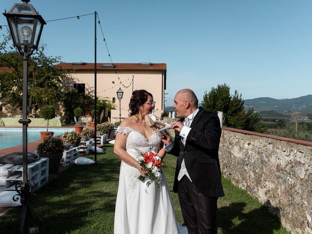 Lorenzo and Stefania's Wedding in Tuscany, Italy 111