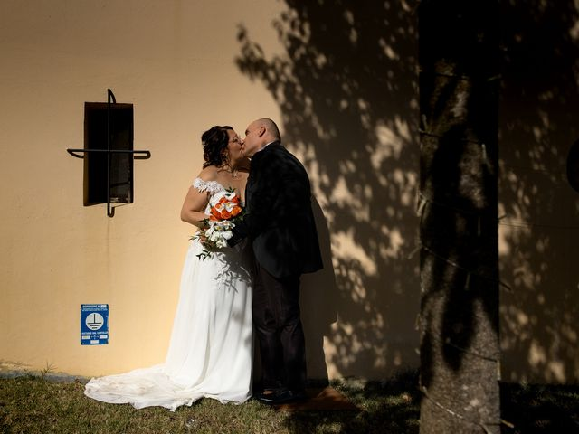 The wedding of Stefania and Lorenzo