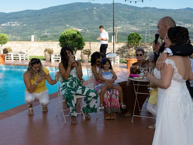 Lorenzo and Stefania's Wedding in Tuscany, Italy 124
