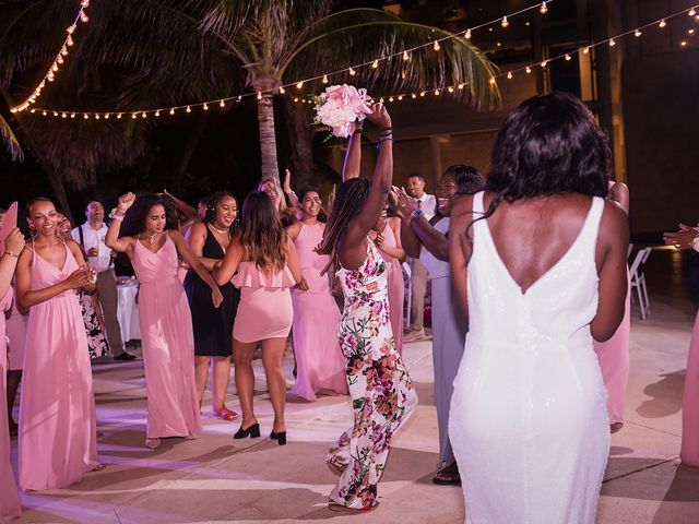 Paul and Laurene's Wedding in Cancun, Mexico 1