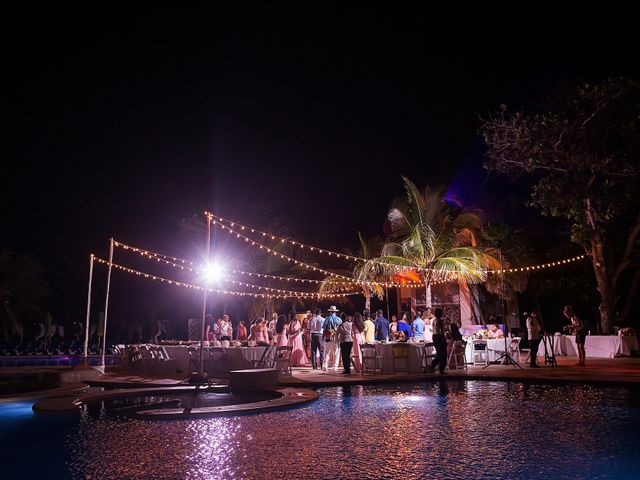Paul and Laurene's Wedding in Cancun, Mexico 4