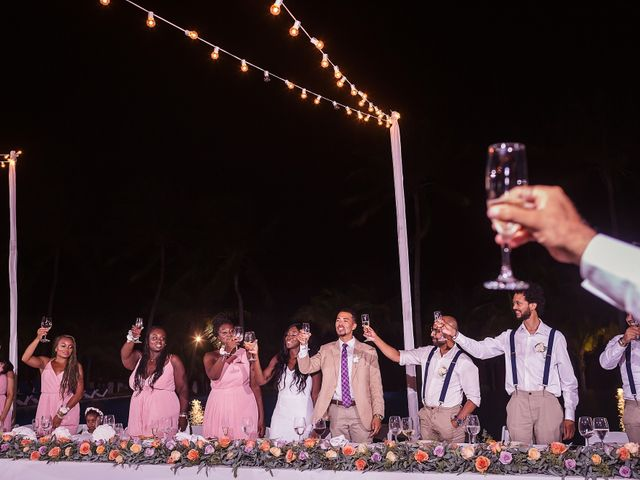 Paul and Laurene's Wedding in Cancun, Mexico 11