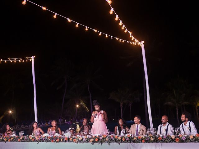 Paul and Laurene's Wedding in Cancun, Mexico 13