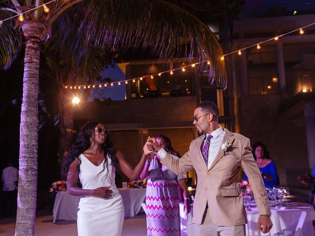 Paul and Laurene's Wedding in Cancun, Mexico 15