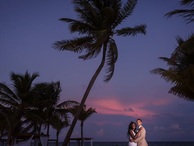 Paul and Laurene's Wedding in Cancun, Mexico 21