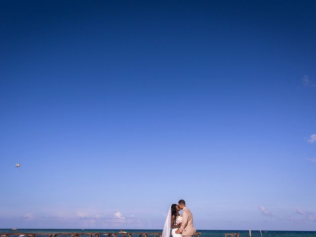 Paul and Laurene's Wedding in Cancun, Mexico 36