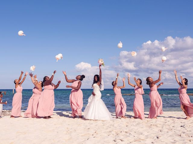 Paul and Laurene's Wedding in Cancun, Mexico 38