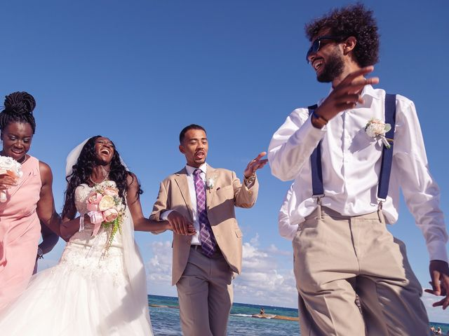 Paul and Laurene's Wedding in Cancun, Mexico 39