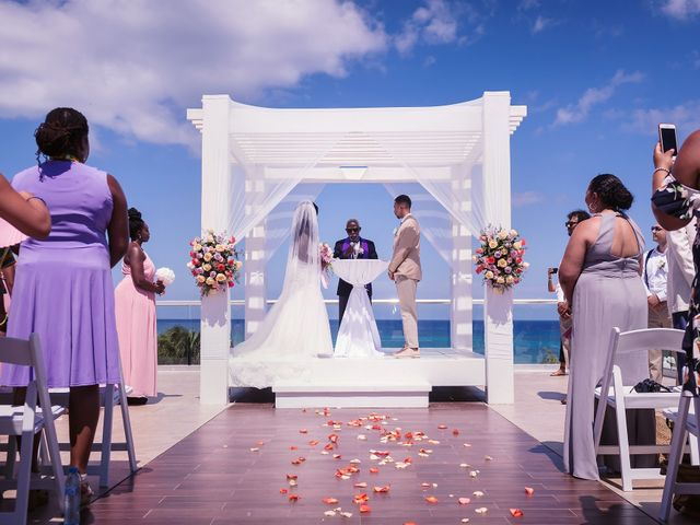 Paul and Laurene's Wedding in Cancun, Mexico 53