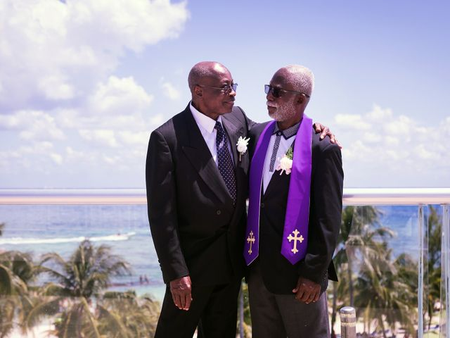 Paul and Laurene's Wedding in Cancun, Mexico 64