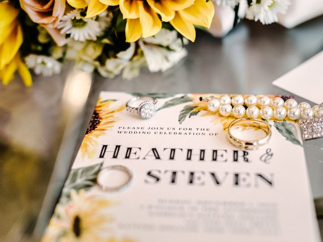 Steven and Heather's Wedding in Calverton, New York 4