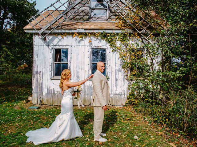 Steven and Heather's Wedding in Calverton, New York 17