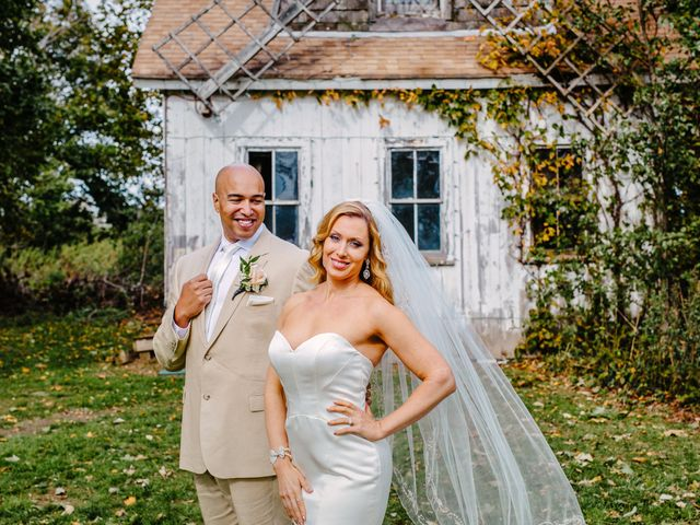 Steven and Heather's Wedding in Calverton, New York 19