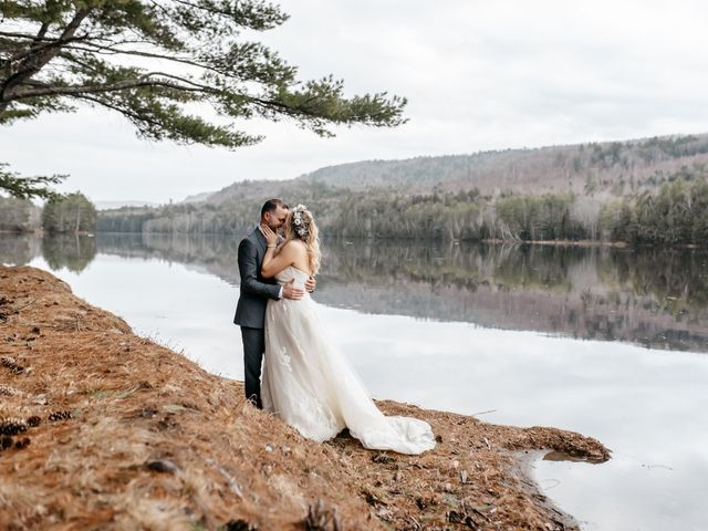Brittany and Mark's Wedding in Caratunk, Maine 4