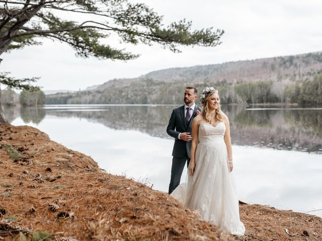 Brittany and Mark's Wedding in Caratunk, Maine 5