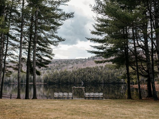 Brittany and Mark's Wedding in Caratunk, Maine 1