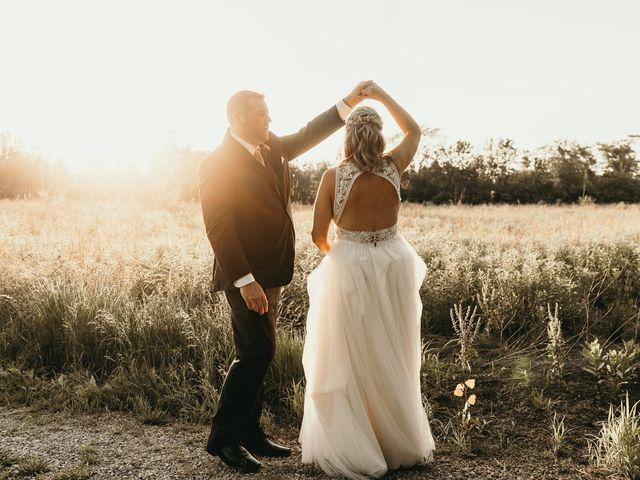 The wedding of Ashley and Matt