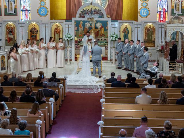 Andrew and Alexa's Wedding in Portland, Connecticut 4