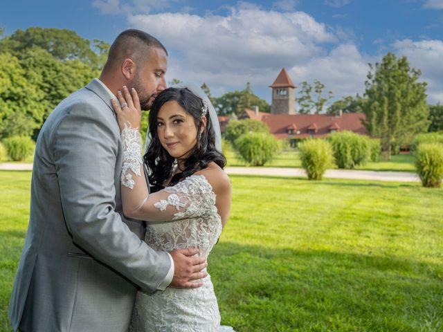Andrew and Alexa's Wedding in Portland, Connecticut 7