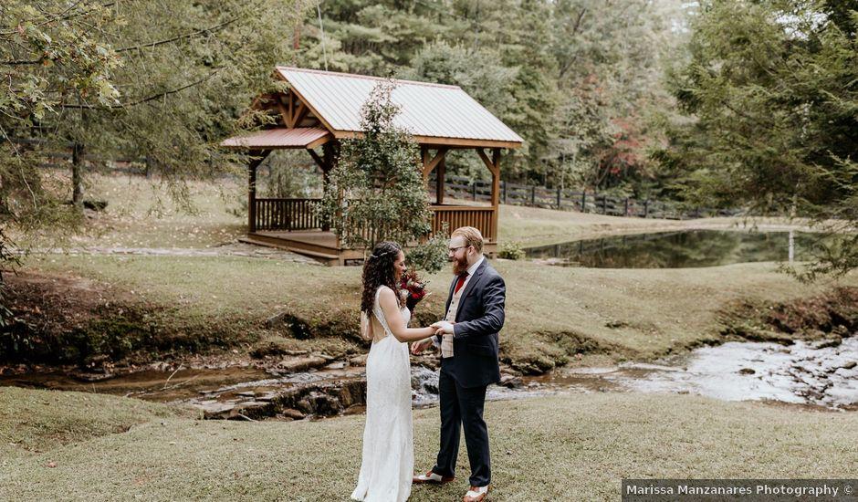 Nathan and Alydia's Wedding in Dahlonega, Georgia