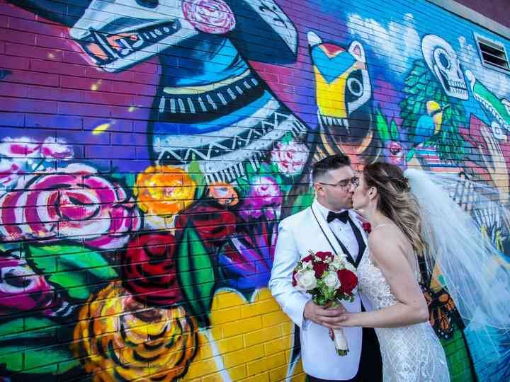 The wedding of Yolanda and Adan