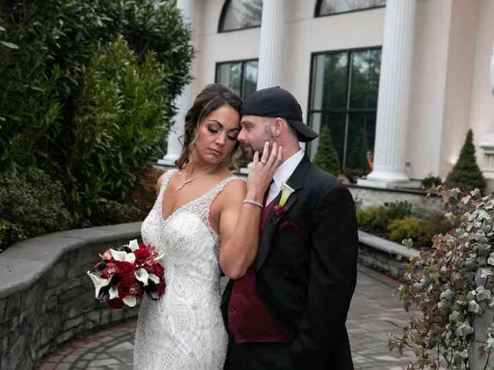 The wedding of Stefanie and Adam