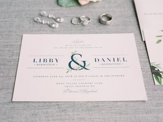 The wedding of Libby and Danny 1