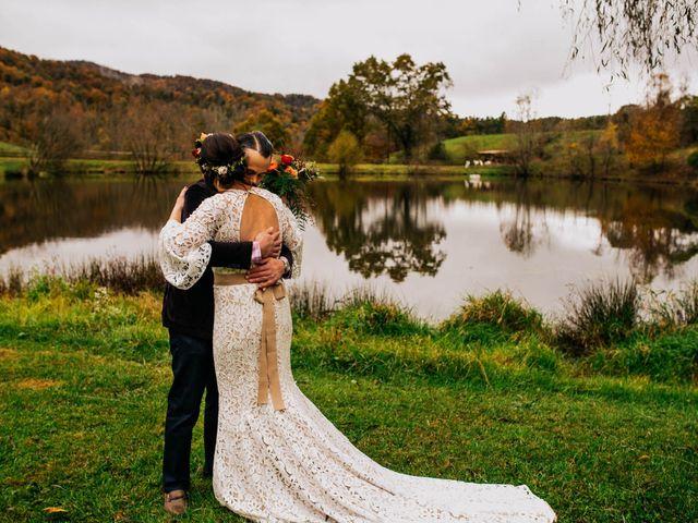 Gregg and Caitlin's Wedding in Asheville, North Carolina 1