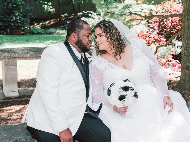 The wedding of Jennifer and Michael