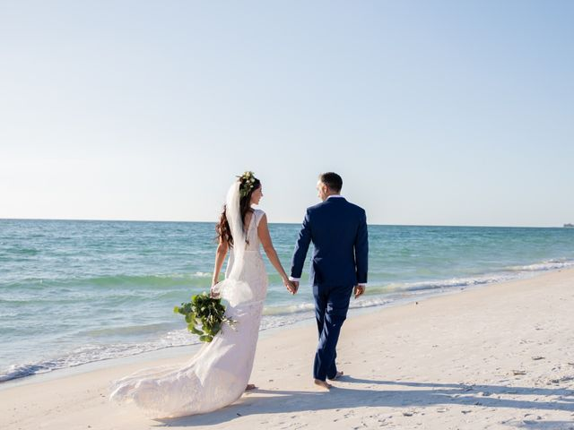 James  and Kristin's Wedding in Anna Maria, Florida 5