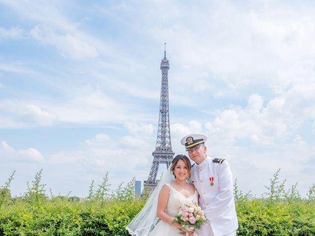 Brian and Debora's Wedding in Paris, France 3