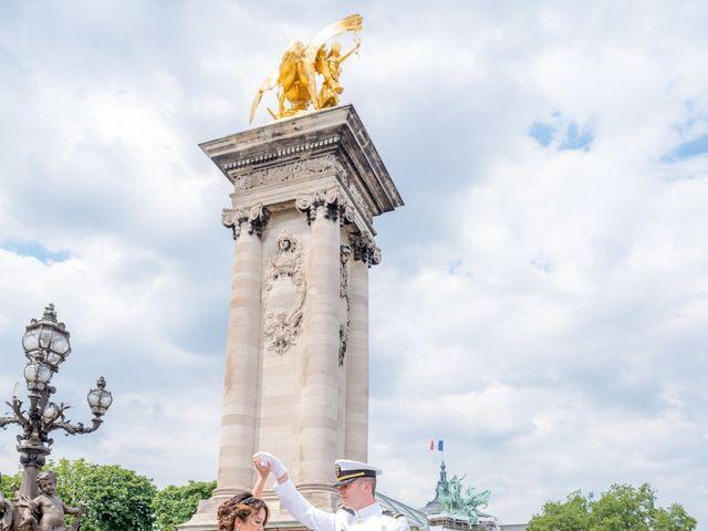 Brian and Debora's Wedding in Paris, France 4