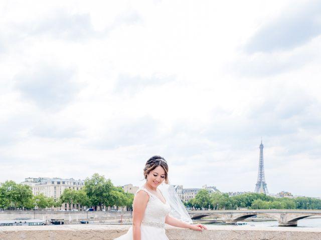 Brian and Debora's Wedding in Paris, France 7
