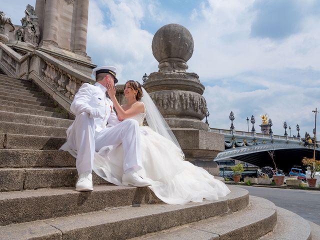Brian and Debora's Wedding in Paris, France 8